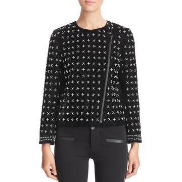Kobi Halperin Womens Lavinia Velvet Beaded Jacket