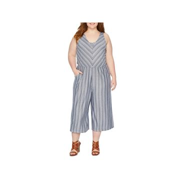 a.n.a Sleeveless Jumpsuit-Plus