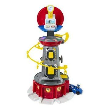 PAW Patrol, Mighty Pups Super PAWs Lookout Tower Playset with Lights and Sounds, for Ages 3 and Up