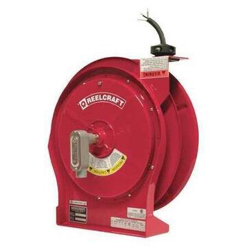 REELCRAFT L 5750 103 X Retractable Cord Reel with 50 ft. Cord 10/3