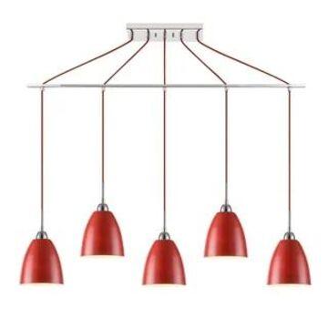 Woodbridge Lighting 15329-CHR Vento 5-light Linear Pendant