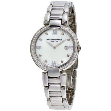 Raymond Weil Shine Mother of Pearl Dial Ladies Watch 1600-STS-00995