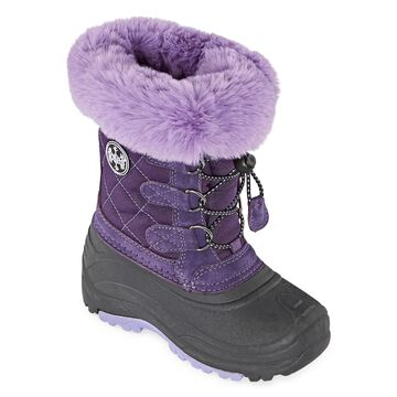 Totes Little Kid/Big Kid Girls Jenna Waterproof Insulated Winter Boots