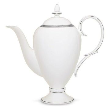 Noritake Rochelle Platinum Coffee Pot