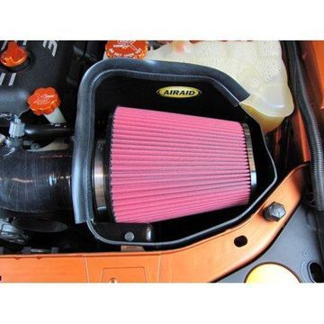 Airaid 11-14 Dodge Charger/Challenger MXP Intake System w/ Silicone Tube (Dry / Red Media)