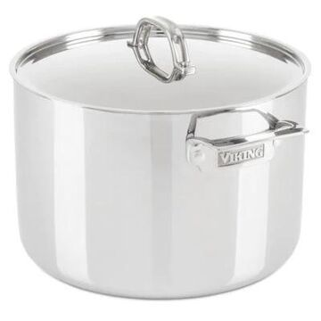 Viking 3-Ply Stainless Steel 12 qt. Covered Stock Pot