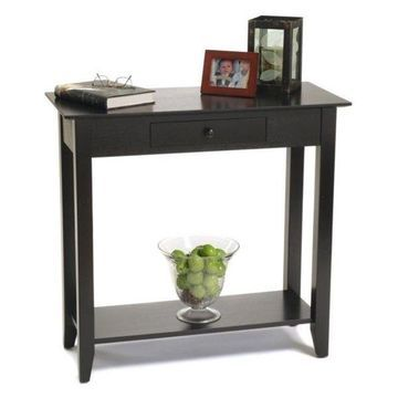 Pemberly Row Hall Table, Black