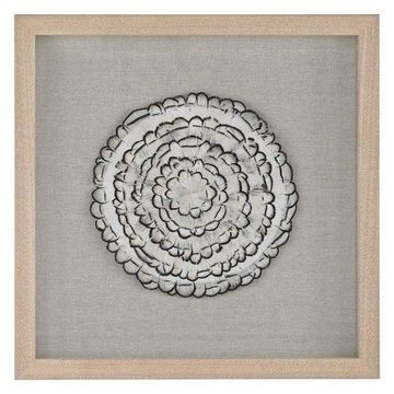 Lazy Susan Feather Swirl Wall Decor