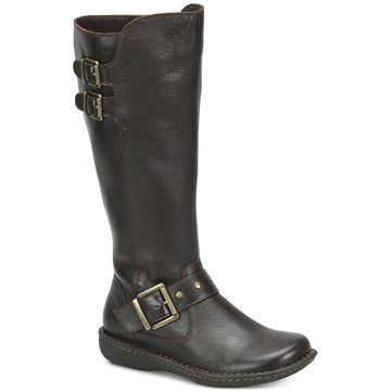 Oliver Wide Calf Riding Leather Boots