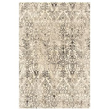 United Weavers Serenity Collection Vision Rug, Beig/Green, 2X3 Ft