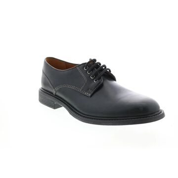 Bostonian Brently Plain Black Mens Plain Toe Oxfords & Lace Ups