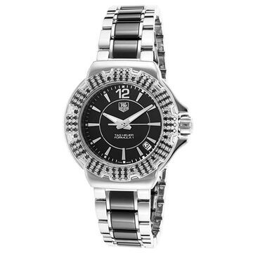Tag Heuer Women's WAH1216.BA0859 'Formula 1' Diamond Two-Tone Stainless Steel and Ceramic Watch