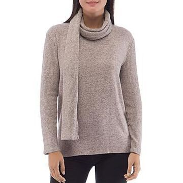 B Collection by Bobeau Alder Cozy Scarf Sweater