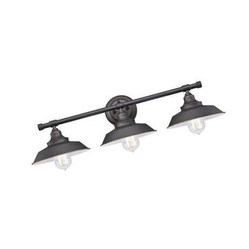 ''Westinghouse 6343400 Iron Hill Three-Light Indoor Wall Fixture,... Free Shipping''