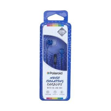 Polaroid Stereo Headphone With In-Line Mic -