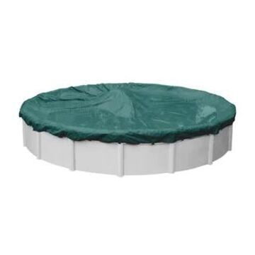 Robelle Supreme Plus/ Premier Winter Cover for Round Above-ground Pools (30' - Green)