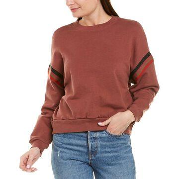 Monrow Womens Boxy Sweatshirt