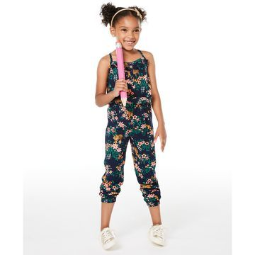 Little Girls Printed Jumpsuit, Created for Macy's