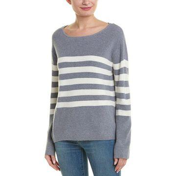 Monrow Womens Stripe Sweater