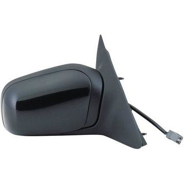 61519F - Fit System Passenger Side Mirror for 92-94 Ford Crown Victoria, Mercury Grand Marquis, black, foldaway, Power
