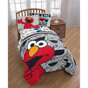 Hip Elmo Twin Comforter