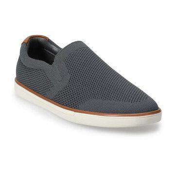Sonoma Goods For Life Dewitt Men's Knit Slip-On Shoes, Size: 8, Med Grey