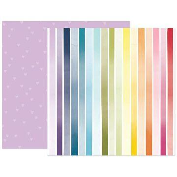 "American Crafts Paige Evans Wonders #2 12"" x 12"" Cardstock, 25 Sheets | Michaels"