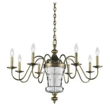 Elk Lighting Bensley - Eight Light Chandelier