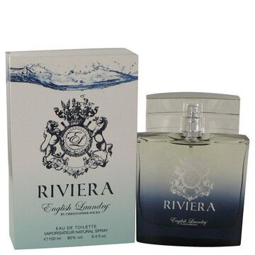 Riviera Eau De Toilette Spray 3.4 oz For Men 100% authentic perfect as a gift or just everyday use