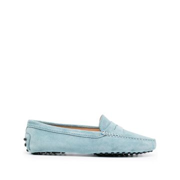Tod's Flat shoes Clear Blue