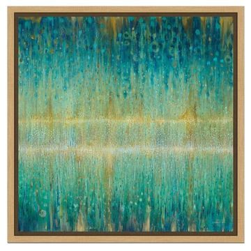 Amanti Art 'Rain Abstract I' by Danhui Nai