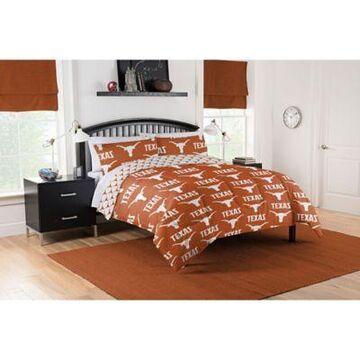 Texas Longhorns 5-Piece Queen Bed in a Bag Comforter Set Multi