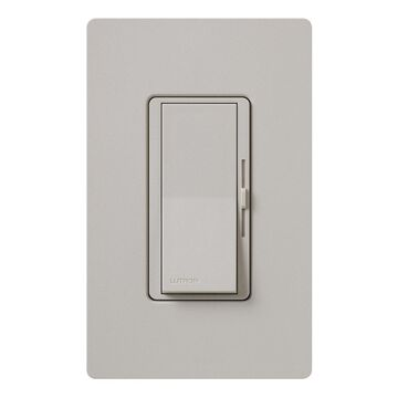 Lutron Diva Single-Pole Taupe Rocker Light Dimmer
