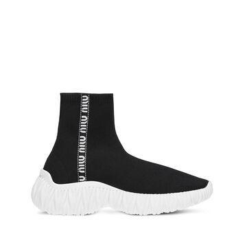 MIU MIU slip-on high-top sneakers