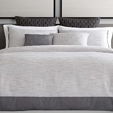 Vera Wang Grisaille Weave Duvet Cover, King