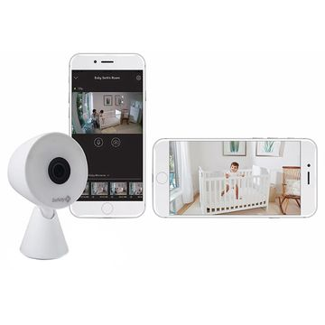 Safety 1st& HD WiFi Baby Monitor in White