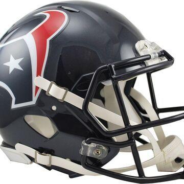 Riddell Houston Texans Revolution Speed Football Helmet