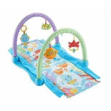 Fisher-Price Kick & Crawl Musical Gym, Seahorse by Fisher-Price Baby Gym