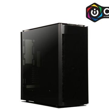 Corsair Obsidian Series 1000D CC-9011148-WW Super Tower Case, Premium Tempered Glass and Aluminum Smart Case