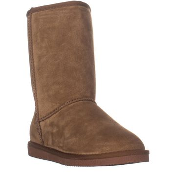 LAMO Classic 9 Inch Pull On Winter Boots, Chestnut
