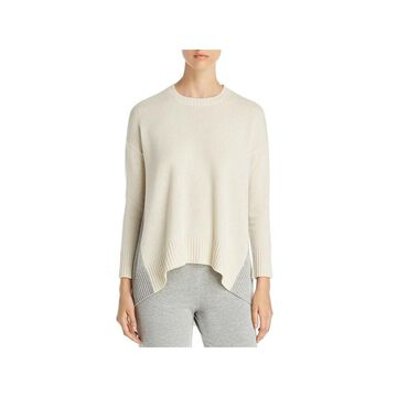 Eileen Fisher Womens Sweater Cashmere Colorblock