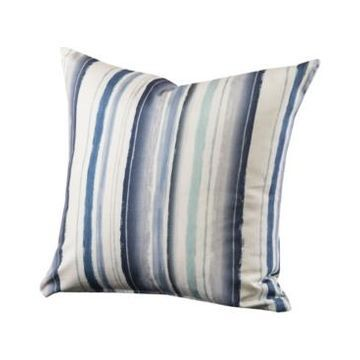 """Siscovers Bayview Stripe Decorative Pillow, 20"""" x 20"""""""