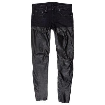 R13 Black Cotton - elasthane Jeans