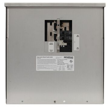 Generac 200-Amp Manual Transfer Switch