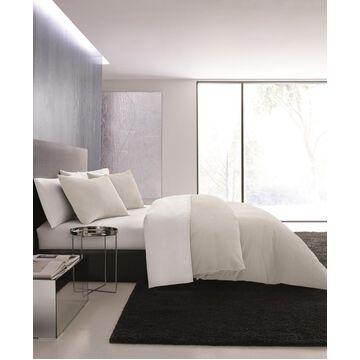 Vera Wang Waffle Pique King Duvet Cover Set Bedding