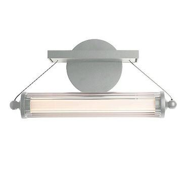 Libra LED Sconce by Hubbardton Forge - Color: Clear - Finish: Glossy - (209105-1007)