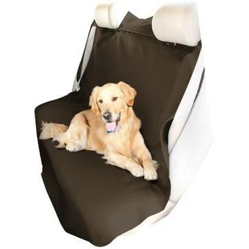 Coverking Seat Shield Canvas Seat Covers in Tan, Rear Seat Cover