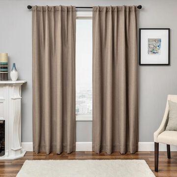 Softline Solara Faux Linen Blackout Curtain Panel