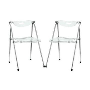 Modway Telescope Dining Chairs Set of 2