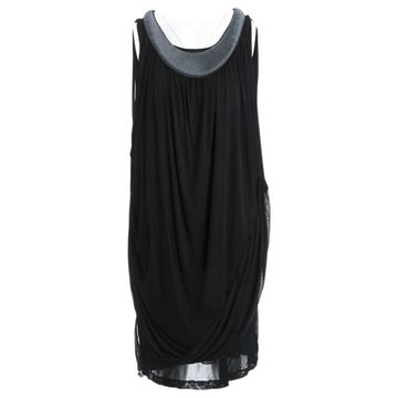 Vera Wang Black Viscose Dresses